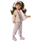 Asivil Celia Brunette Doll, 30cm in beige
