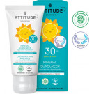 Attitude Fragrance-free Baby & Kids Sunscreen SPF 30, 75g