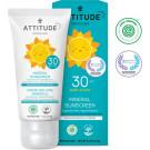 Attitude Fragrance-free Baby & Kids Sunscreen SPF 30, 75g