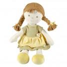 Bonikka Cotton Soft Rag Doll All Natural Honey, 38cm