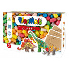Playmais CLASSIC Fun To Play Dinosaur Arts&Crafts Modeling Playset, 550 pieces