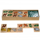MIK Wooden Domino ZOO, 28 pieces