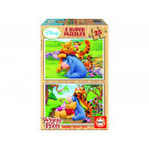 EDUCA 2x25 Wooden Puzzle Winnie The Pooh