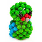 DETOA Wooden Beaded Animal Creative Set Parrot
