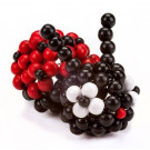 DETOA Wooden Beaded Animal Creative Set Ladybug