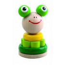 DETOA Wooden Stacking Toy Swing Frog