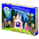 DETOA Wooden Magnetic Theatre Hansel and Gretel Gingerbread House