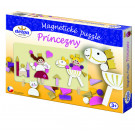 DETOA Wooden Magnetic Puzzle Princesses