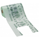 BioBag Compostable shopping bag mini, 300 pieces thin