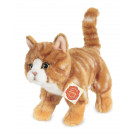 Teddy Hermann Soft toy cat ginger-striped, 20cm