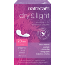 Natracare Organic Cotton Dry & Light Slim Incontinence Pads, 20 Pads