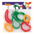 JOVI® Clay Cutters Fruit, 6 pieces