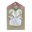 Meiya&Alvin Natural Rubber Teether & Rattle Toy Mouse Meiya