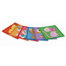 Playmais MOSAIC Card Set Little Friends, 6 pieces