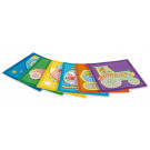 Playmais MOSAIC Card Set Little Traffic, 6 pieces