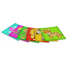 Playmais MOSAIC Card Set Little Zoo, 6 pieces