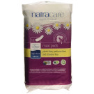 Natracare Organic Cotton Maxi Pads Night Time, 10 Pieces