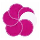 Imse Vimse Nursing Pads Leak-Proof PUL, 3 pairs pink