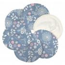 Imse Vimse Nursing Pads Organic Cotton, 3 pairs Garden