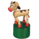 DETOA Wooden Push Up Toy Calf