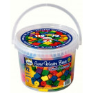 DETOA Wooden Giant Beads, 72 Pieces