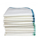 Imse Vimse Cloth Wipes organic cotton, 12 pieces ocean