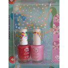 SuncoatGirl Natural Nail Salon Kit Little Valentine, 2x8ml
