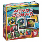 Piatnik Memo & Domino Parrots