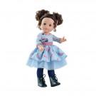 Paola Reina Soy tu Doll Emily, 42cm ponytails