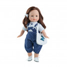 Paola Reina Las Blanditas Virgi Doll 2019, 36cm in blue