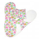 Imse Vimse Cloth Menstrual Pads Night, 3 pieces garden print