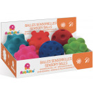 RUBBABU Sensory Balls, 6 pieces