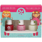 SuncoatGirl Trio Nail Beauty Kit Ballerina Beauty, 3x8ml