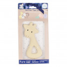 Tikiri Safari Natural Rubber Giraffe Teether
