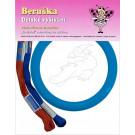 Beruska Kids' Embroidery Set Small Crocodile