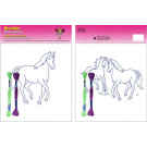 Beruska Kids' Embroidery Set Middle Horse & Horses