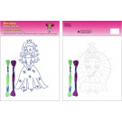 Beruska Kids' Embroidery Set Middle Princesses