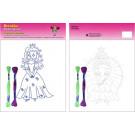 Beruska Kids' Embroidery Set Middle Princesses