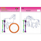 Beruska Kids' Embroidery Set Large 10 Horses