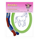 Beruska Kids' Embroidery Set Oval Horse