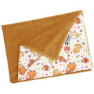 Anavy Changing Mat cotton velour Caramel / Farm Animals