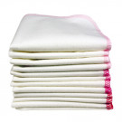 Imse Vimse Cloth Wipes organic cotton, 12 pieces rose