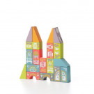 Cubika Wooden Building Toy Fabulous City, 18 pieces