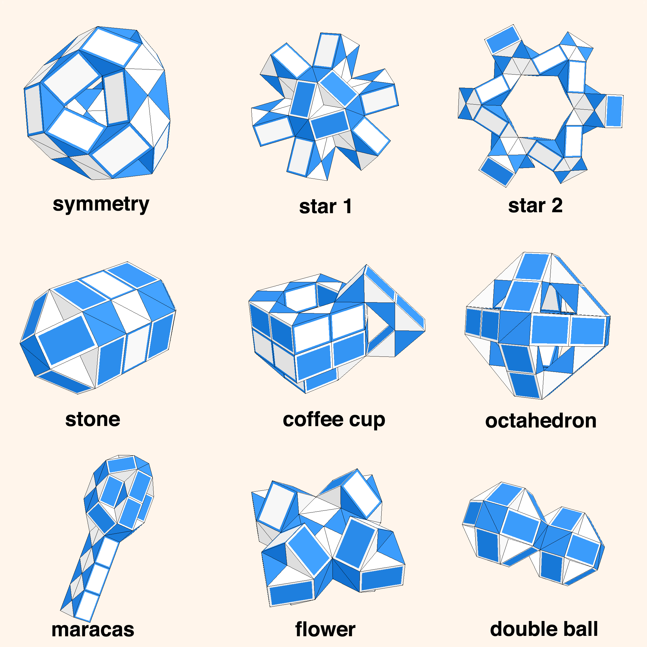 Как сделать шар из змейки рубика пошаговая инструкция в картинках, днем рождения