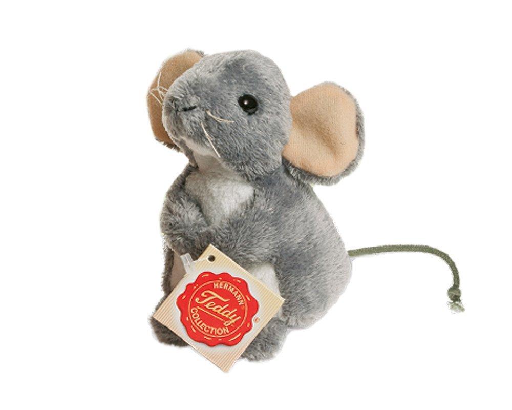 Teddy Hermann Plyšová myš sivá, 11cm